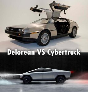 Delorean Vs Cybertruck
