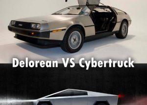 Delorean Vs Cybertruck