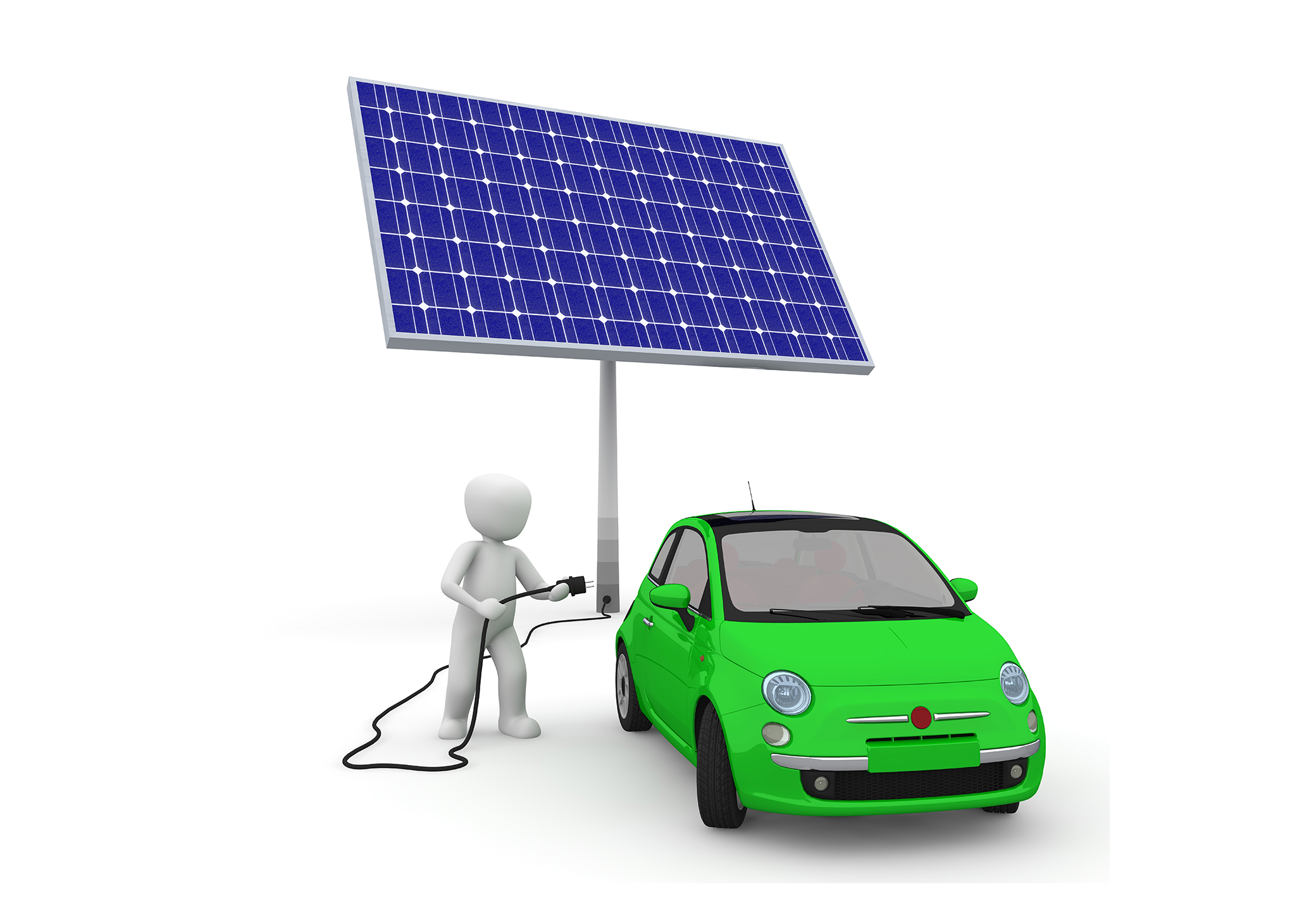 Solar Energy Charges Up A Rebuttal To Battery-Powered Electric Vehicles